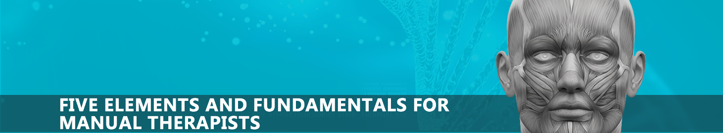FIVE ELEMENTS AND FUNDAMENTALS FOR MANUAL THERAPISTS