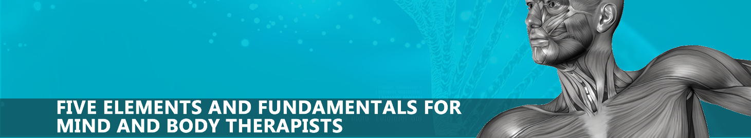 FIVE ELEMENTS AND FUNDAMENTALS FOR MIND AND BODY THERAPISTS